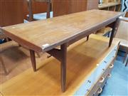 Sale 8741 - Lot 1093 - Quality 1960s Danish Teak Coffee Table