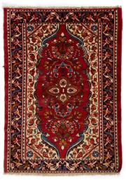 Sale 8790C - Lot 153 - A Persian Hamadan Classed As Village Rugs, Wool On Cotton Foundation, 155 x 110cm