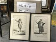 Sale 8794 - Lot 2043 - Large Group of Assorted Early Engravings, Lithographs and Etchings