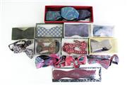 Sale 8849 - Lot 66 - A Collection of 15 Silk Bow Ties