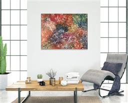 Sale 9128A - Lot 5049 - Emily Kngwarreye (1916 - 1996) - My Country 155 x 117 cm (stretched and ready to hang)