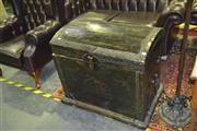 Sale 8165 - Lot 1018 - Chinese Domed Trunk