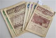 Sale 8418S - Lot 9 - RUGBY LEAGUE NEWS 1961 Vol 42 Nos. 3, 7, 8, 13, 14, 18, 19, 21, 22, 24, 25 (Grand Final - St George v Wests)