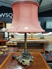 Sale 8697 - Lot 1046 - Antique Table Lamp
