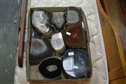 Sale 7987A - Lot 1377 - Box Of Mixed Agate Polished Ends