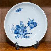 Sale 8308A - Lot 174 - A Royal Copenhagen bowl, painted with blue florals, initialled and numbered to the base. D: 19cm