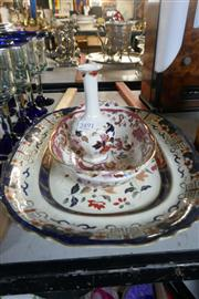 Sale 8362 - Lot 2491 - Masons Dish with Other Wares incl Delft