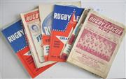 Sale 8418S - Lot 10 - RUGBY LEAGUE NEWS 1962 Vol 42 No. 31 (March) Vols 43 Nos. 1, 4, 5, 6, 8 (NSW v QLD), 9 (NSW v QLD), 10 (Great Britain v Sydney), 11...