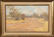 Sale 8653A - Lot 49 - Dora Serle - Towards Brighton 19.5 x 22.5cm