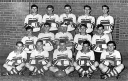 Sale 9082A - Lot 5121 - Eastwood Rugby Union Team, 1966 - 25 x 31cm