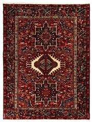 Sale 8790C - Lot 106 - A Persian Azerbaijan Gharajeh Turkish Knotted 100% Wool Pile And Geometrics Design, 190 x 144cm
