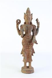 Sale 8890 - Lot 53 - A Thai Bronze Buddha (H 40cm)