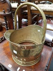 Sale 8697 - Lot 1047 - Brass Coal Bucket