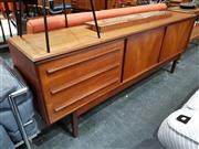 Sale 8801 - Lot 1042 - White & Newton Teak Sideboard with Silding Doors