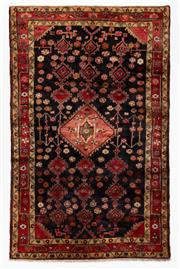 Sale 8760C - Lot 94 - A Persian Hamadan Classed As Village Rugs, Wool On Cotton Foundation, 260 x 165cm
