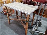 Sale 8843 - Lot 1044 - Cane Occasional Table