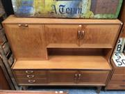 Sale 8859 - Lot 1077 - G-Plan Teak Highboard
