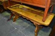 Sale 8093 - Lot 1342 - Timber Coffee Table