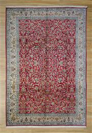 Sale 8559C - Lot 10 - Super Fine Kashmiri Silk 270cm x 185cm