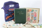 Sale 8586 - Lot 112 - Collection of Stamps inc Albums