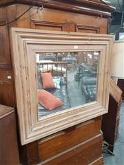 Sale 8740 - Lot 1709 - Timber Framed Mirror