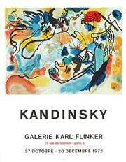 Sale 8794A - Lot 5088 - After Wassily Kandinsky (1866 - 1944) - Galerie Karl Flinker: Kandinsky, 1972 71 x 55cm