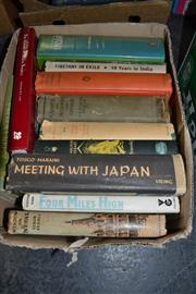 Sale 8013 - Lot 1800 - Collection of Books on Asia incl. Maraini, F. Meeting with Japan; Sekels, T. Window on Nepal; etc