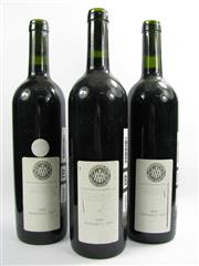 Sale 8278A - Lot 88 - 3x 2000 McWilliams 1877 Cabernet Shiraz, Multi-Region Blend - sample bottles