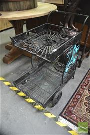 Sale 8299 - Lot 1098 - Metal Garden Trolley