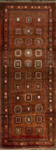 Sale 8345C - Lot 43 - Antique Persian Baluch 276cm x 190cm