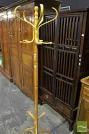 Sale 8472 - Lot 1022 - Timber Coat Stand