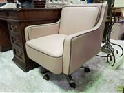 Sale 8580 - Lot 1015 - Pair of Vintage Reception Chairs