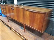 Sale 8765 - Lot 1022 - Quality McIntosh Rosewood Sideboard with 3 Drawers 2 Doors and Drop Front Section