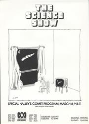 Sale 8766A - Lot 5011 - Alan Moir - The ABC Science Show. Special Halley's Comet Program lithograph