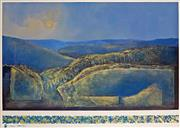 Sale 8867A - Lot 5004 - Mel Brigg (1950 - ) - Blue Mountains 56.5 x 82cm