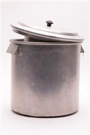 Sale 9023 - Lot 79 - A Metal Graduated Set of Kitchen Cannisters