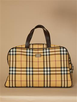 Sale 9093F - Lot 82 - A Burberry Suitcase With Authentication Certificate Outer Very Good Vintage Condition Inside Excellent Condition