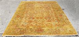 Sale 9188 - Lot 1680A - Hand woven pure wool Afghan chobi in golden tones -