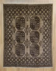 Sale 8559C - Lot 12 - Persian Turkman 193cm x 145cm