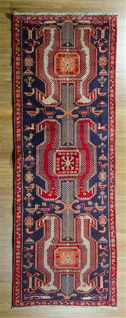 Sale 8617C - Lot 29 - Persian Hamadan Runner 288x107