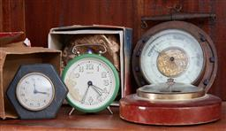 Sale 9103H - Lot 18 - A small quantity of clocks and barometers