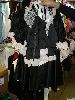 Sale 7490 - Lot 1250 - 3 SATIN FRENCH MAID DRESSES