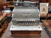 Sale 8741 - Lot 1086 - Vintage Dominion Brass Finished Cash Register