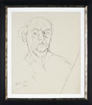 Sale 8908A - Lot 5010 - Desiderius Orban (1884 - 1986) - Self Portrait, 1955 54 x 45 cm