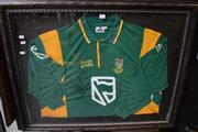 Sale 8346 - Lot 2013 - South African Cricket Framed Jersey