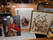 Sale 8422T - Lot 2081 - Religious Picture And Others