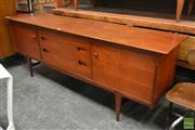 Sale 8511 - Lot 1012 - Quality Younger Teak Sideboard by B. V. Wilkins