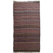 Sale 8830C - Lot 19 - An Afghan Vintage Beluch Kelim in Handspun Wool 280x110 cm