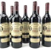 Sale 8862 - Lot 574 - 12x 1998-2009 Kay Brothers Amery Vineyards 'Block 6' Old Vine Shiraz, McLaren Vale - vertical set of 12 bottles, one bottle per vinta