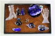 Sale 8935D - Lot 693 - Collection of art glass items incl. Hokitika examples